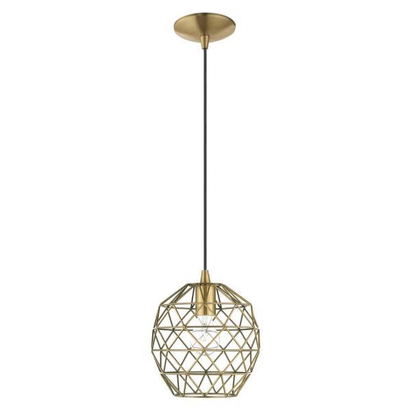 geometric mini pendant light # 10