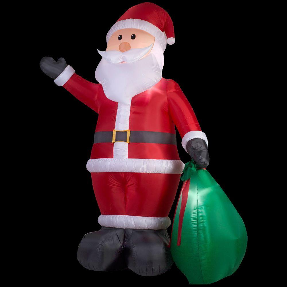 Home Accents 9ft Led Santa