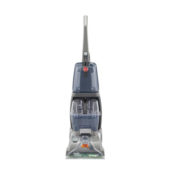 Hoover Turbo Scrub Upright Carpet Cleaner FH50130   The Home Depot Hoover Turbo Scrub Upright Carpet Cleaner