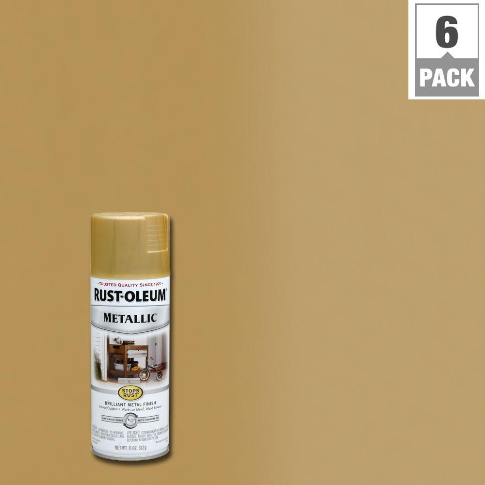 Rust Oleum Satin Nickel Spray Paint