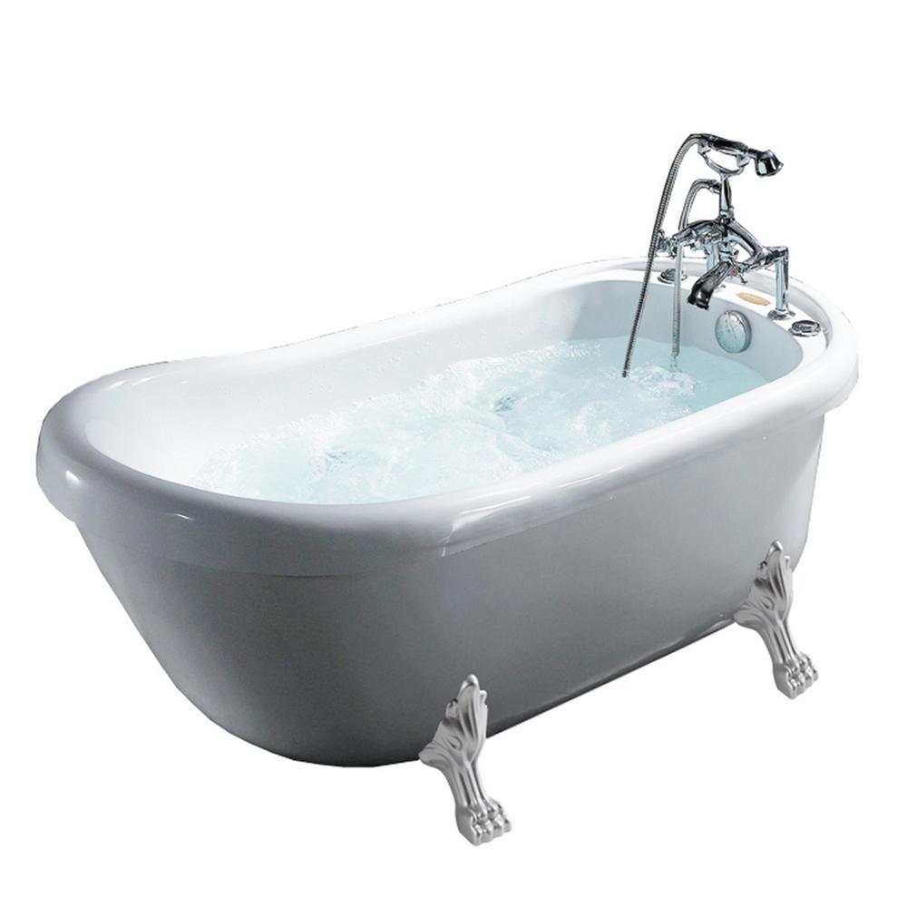 Depot Home Shower Tub Clawfoot