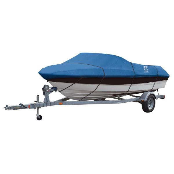 Classic Accessories Stellex 12 ft  to 14 ft  Boat Cover 20 144     Classic Accessories Stellex 12 ft  to 14 ft  Boat Cover