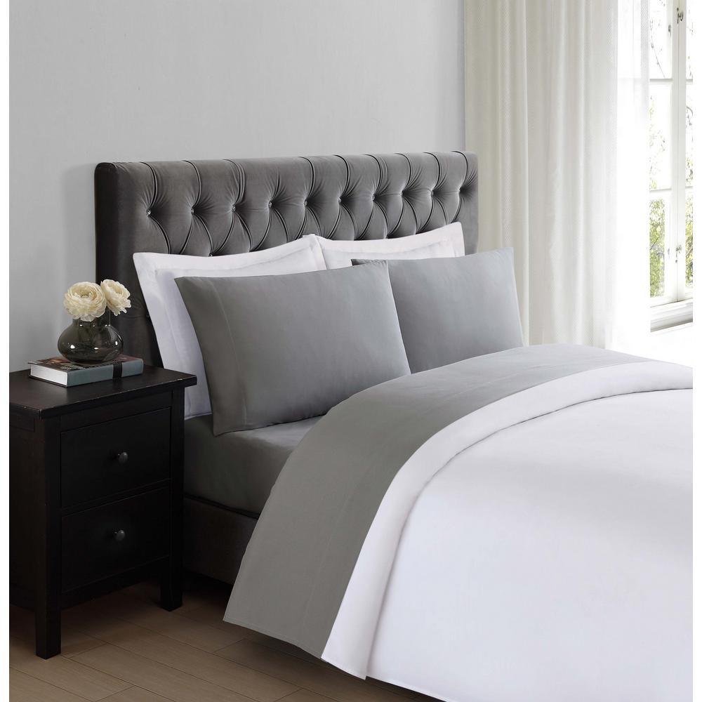 Truly Soft Everyday Grey Twin Sheet Set-SS1658GYTW-4700 ...