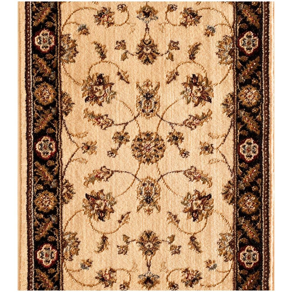 Natco Stratford Kazmir Ivory 33 In X Your Choice Length Stair | Home Depot Stair Runners | Diy | Boards | Half Landing | Outdoor | Tread