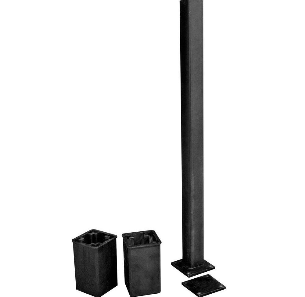 Veranda Post Install Kit For 36 In Railings 73014098 The Home Depot | Metal Handrail Home Depot | Deck Stairs | Outdoor Handrails | Balusters | Porch Railings | Aluminum Railing