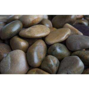 Medium   Landscape Rocks   Hardscapes   The Home Depot 1 in  to 2 in   20 lb  Medium Mixed Grade A Polished