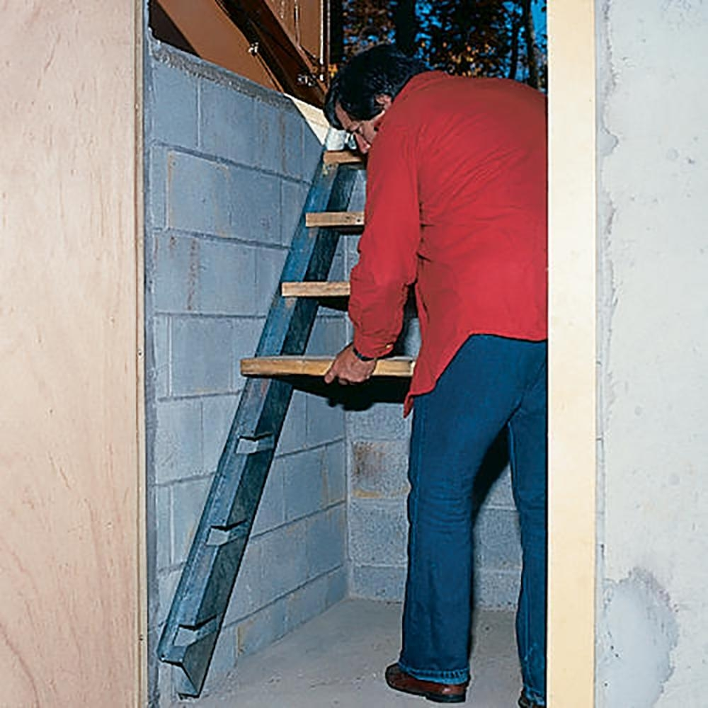 Bilco Size C Stair Galvanized Steel Stringer Kit Sz C Ss The | Bilco Precast Basement Stairs | Walkout Basement | Egress | Basement Entry | Precast Concrete Steps | Basement Entrance