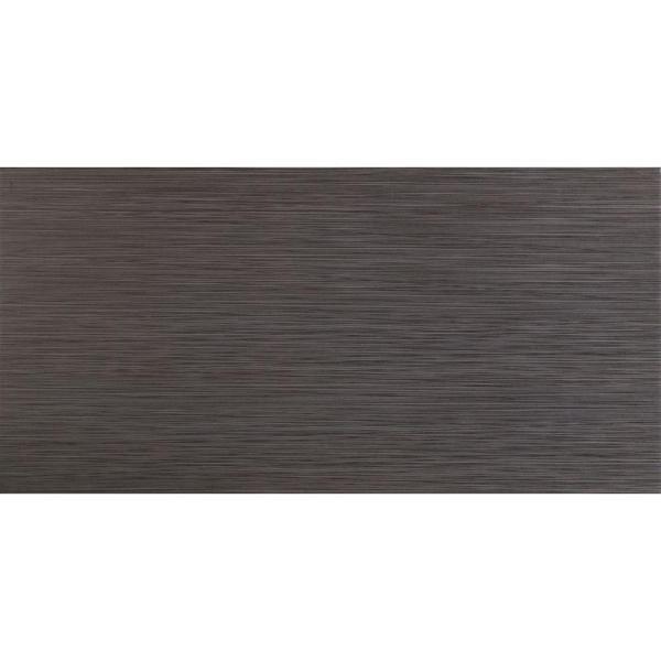MSI Metro Gris 12 in  x 24 in  Glazed Porcelain Floor and Wall Tile     Glazed Porcelain Floor and Wall Tile
