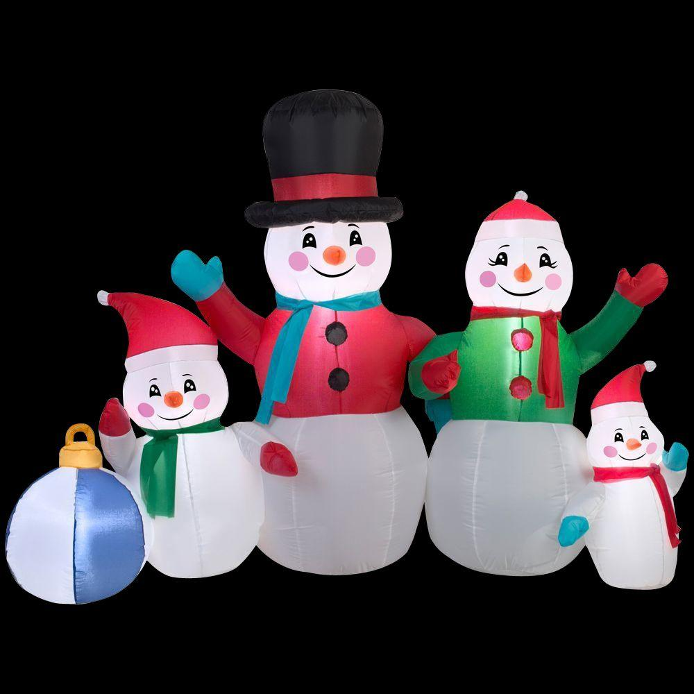 Home Accents 9ft Snowman