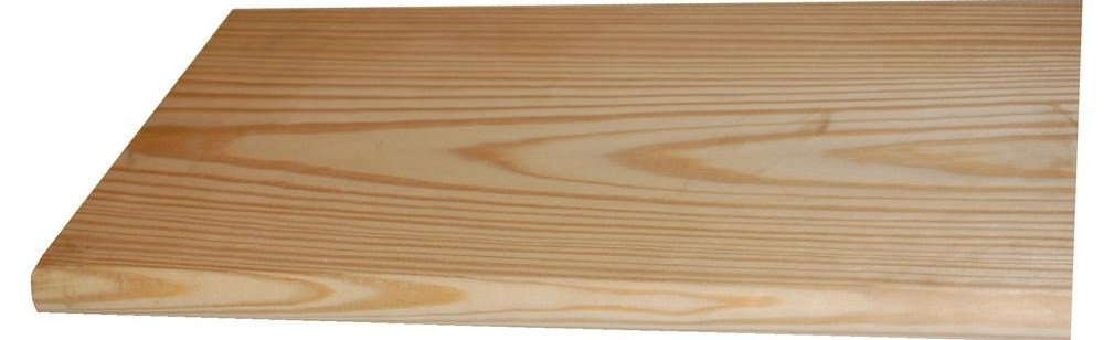 5 4 In X 12 In X 3 Ft Southern Yellow Pine Bullnose Stair Tread | Prefab Wooden Stairs Home Depot | Front Porch | Stair Case | Stair Stringer | Modular Staircase | Spiral Staircase