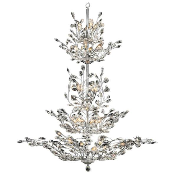 crystal chandelier tiered # 40