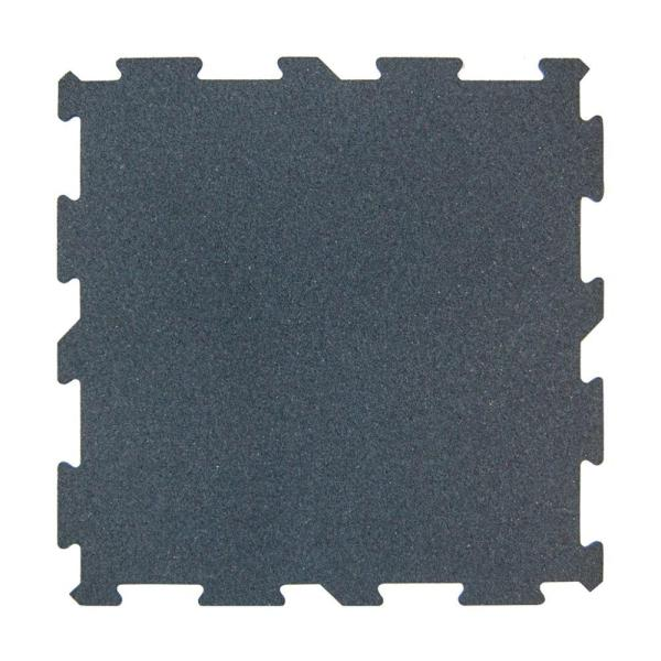 Multy Home XR6 Gray 18 in  x 18 in  Rubber Activity Floor  12 Pack     Multy Home XR6 Gray 18 in  x 18 in  Rubber Activity Floor  12