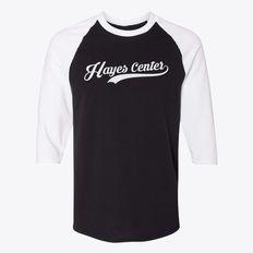 Hayes Center Nebraska Classic Established Crewneck Sweatshirt   Hometown Apparel
