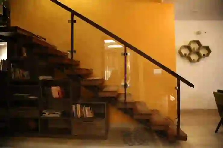 7 Modern Staircase Designs For Indian Homes Homify Homify   Steel Ladder Design For Home   Beautiful   Interior   Custom   Steel Staircase   Loft Ladder