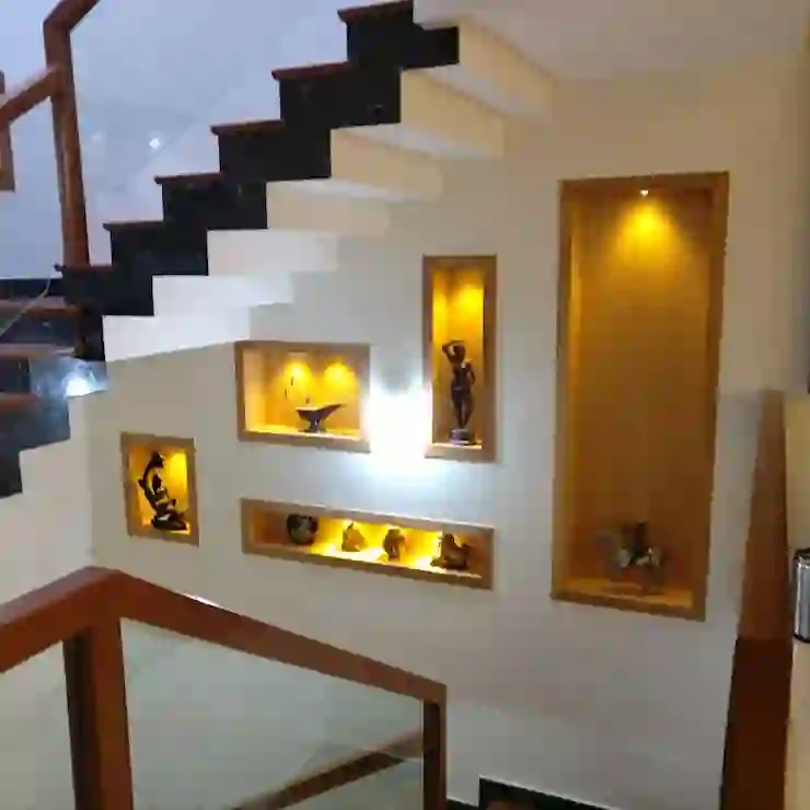 Types Of Staircase Designs For Indian Homes Homify Homify | Staircase Designs For Homes | Concrete | Contemporary | Modern | Round | Luxury