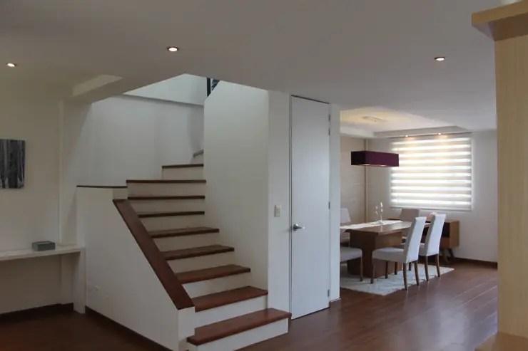 Dos De Escaleras Pisos Casas Disenos De Para