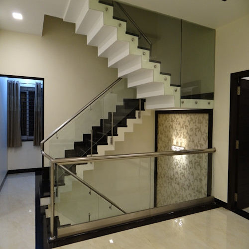 12 Staircases For Small Indian Homes Homify Homify | House Inner Steps Design | Residential | Internal Step | Upstairs | Apartment Duplex | Unique