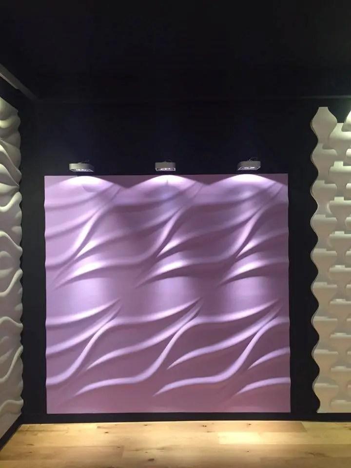 Dekorative Wandpaneele aus Gips - Showrooms by Loft Design System