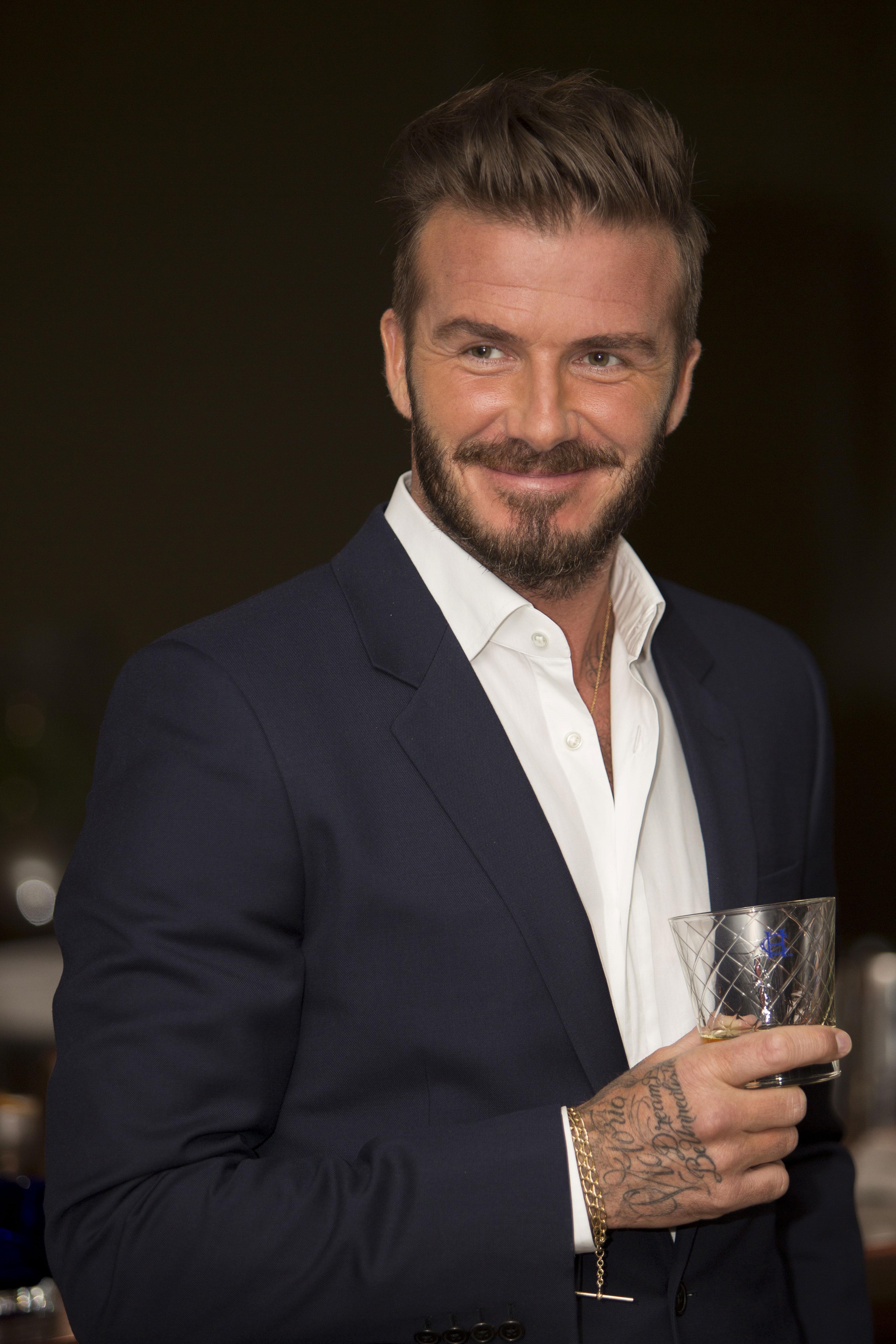 Order It Like Beckham: David Beckham Gives Haig Club a ...