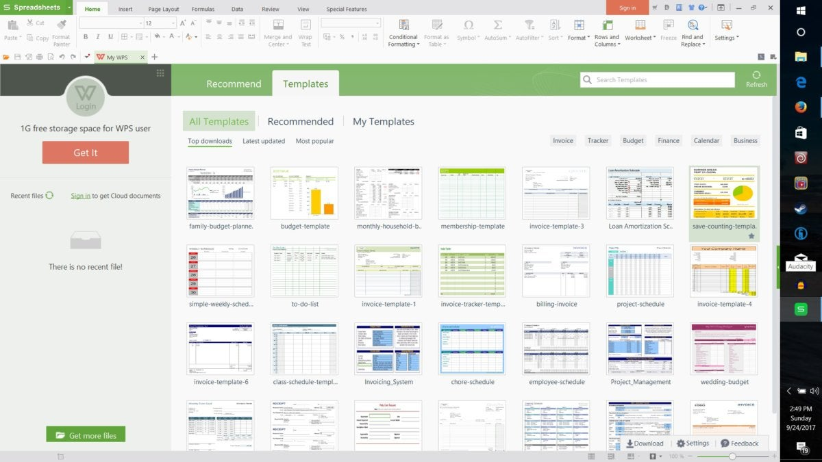 Wps Office 2016 Review A True Office Alternative Pcworld