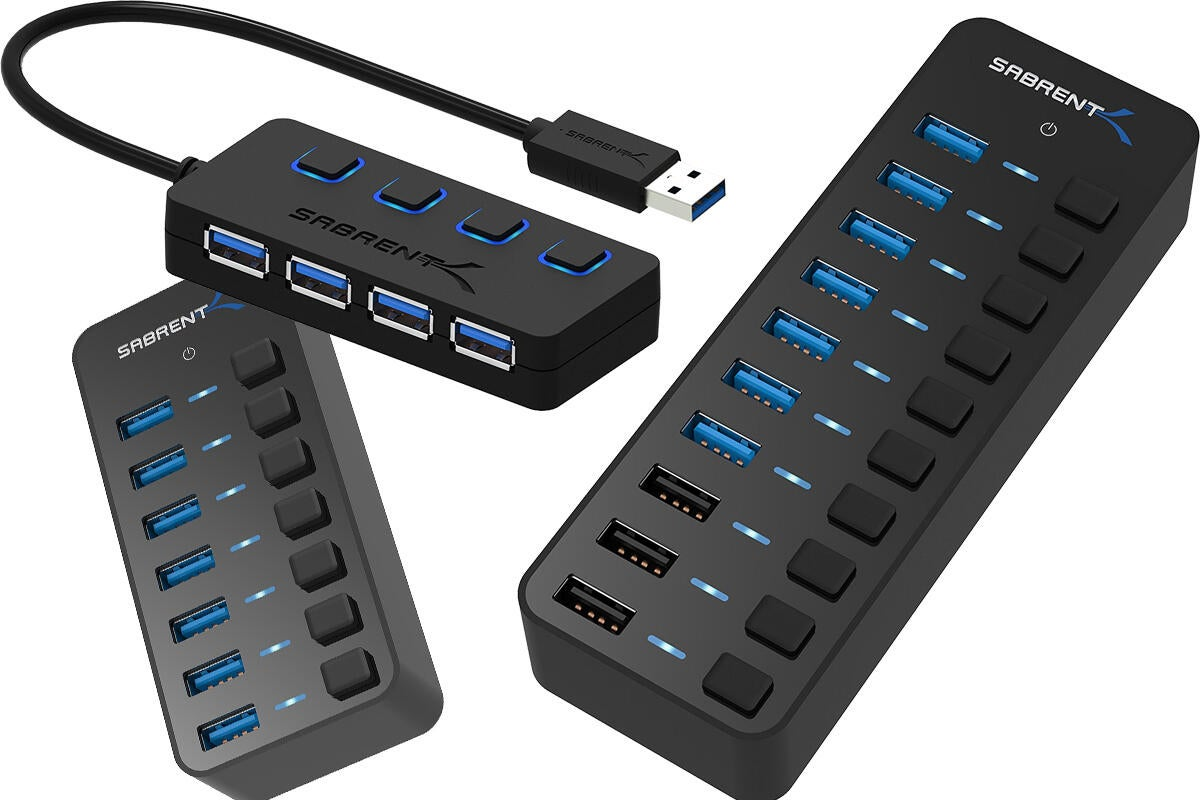 Amazon S Awesome Sabrent Hub Sale Will Add Up To 10 Usb