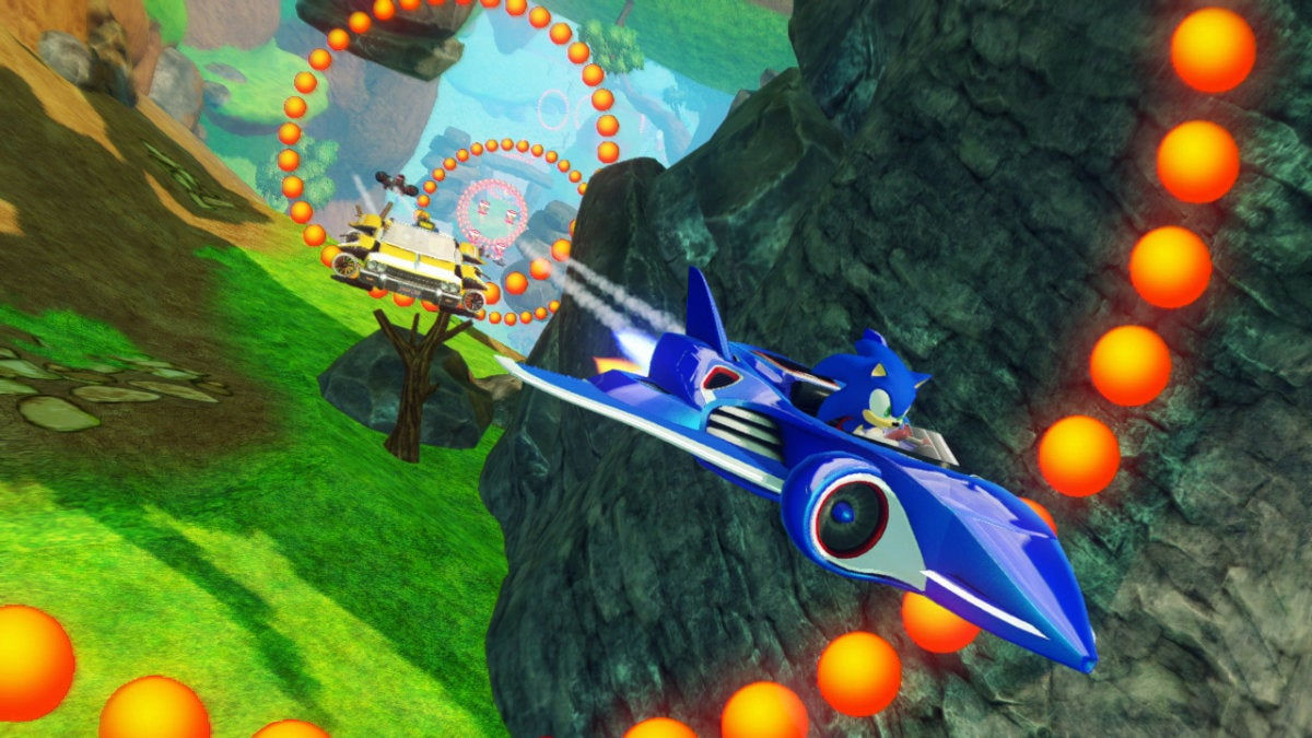 Sonic And Sega All Stars Racing Transformed Pc Characters