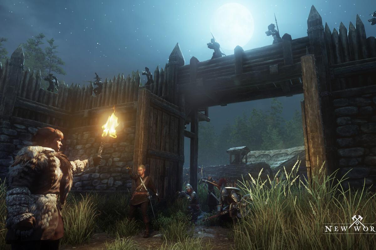 New World Preview Amazon S Debut Video Game Is A Sandbox