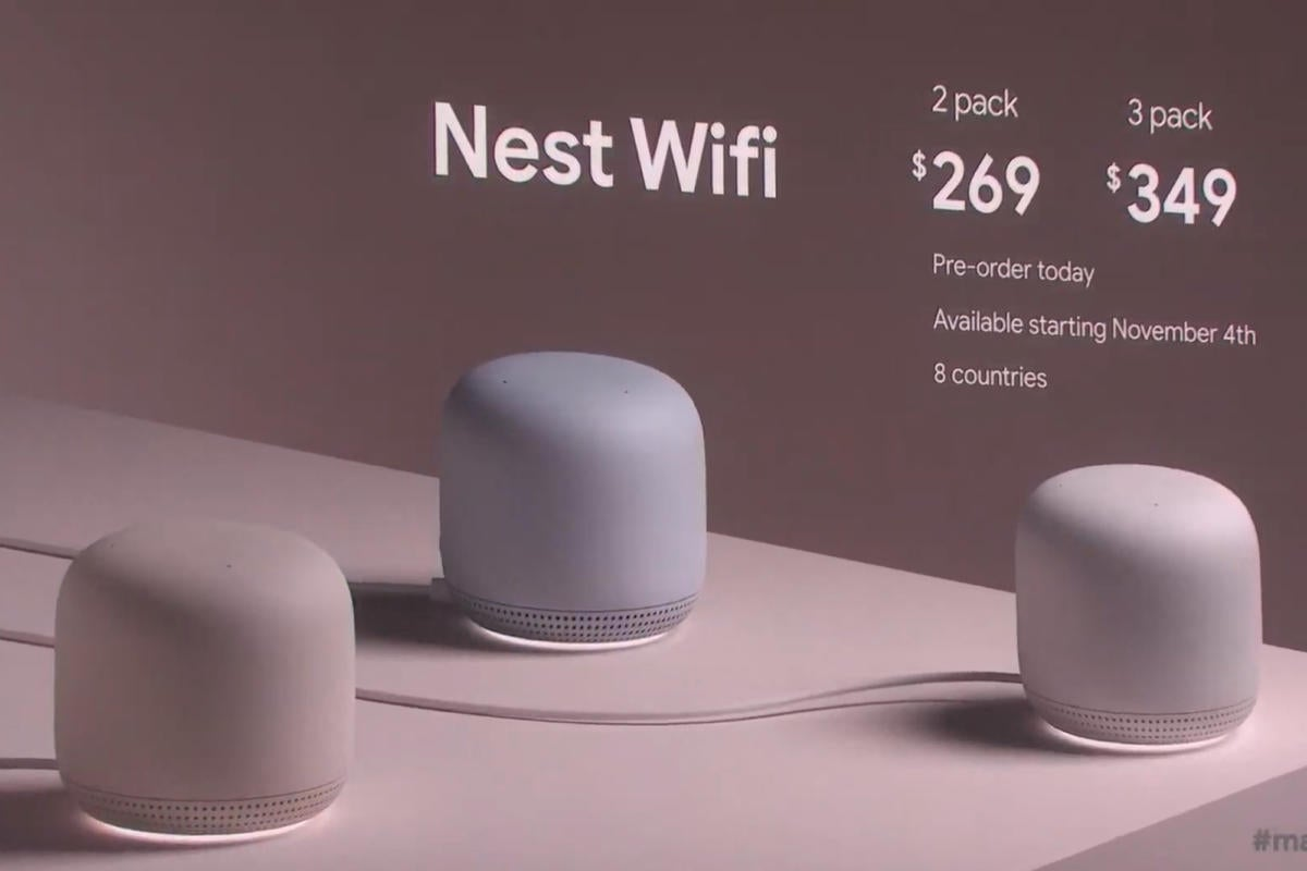 Nest Wifi S Integrated Smart Speakers Could Give It An