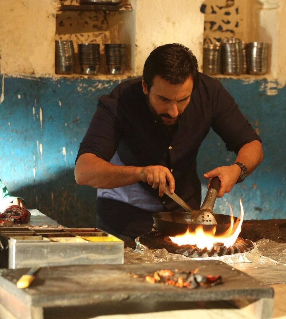 First look poster of Saif Ali Khan starrer Chef is out ...