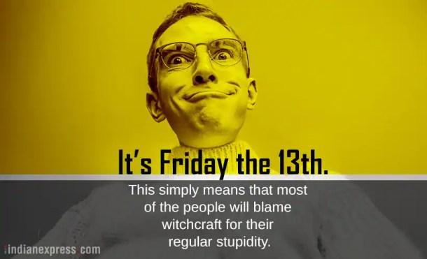 Joke Day Friday 13th