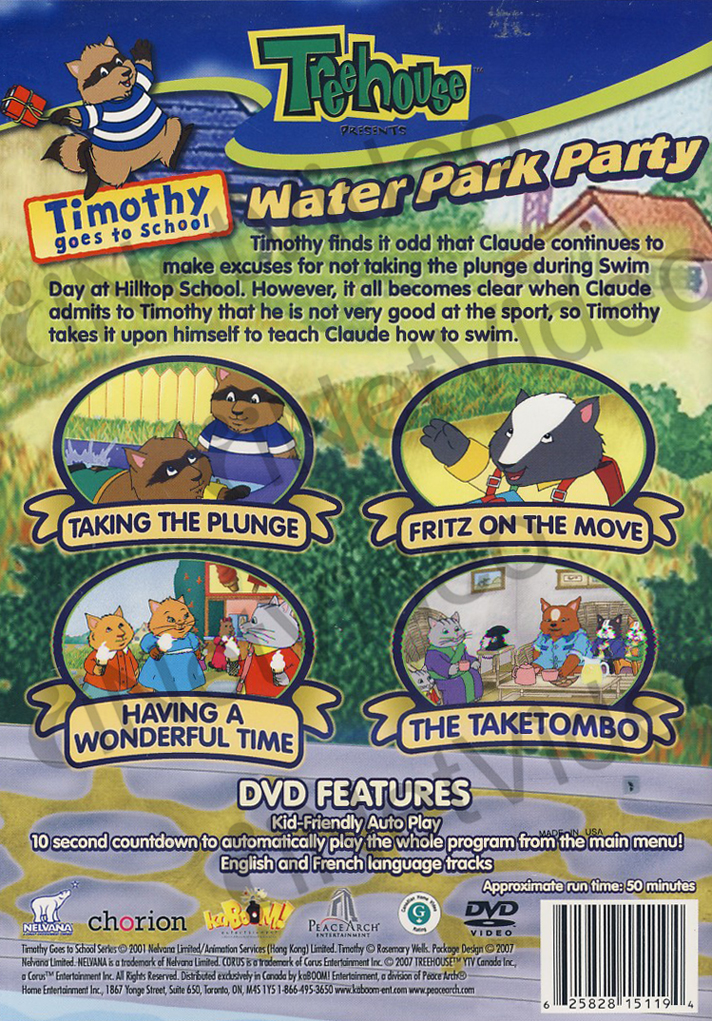 Timothy Goes School Water