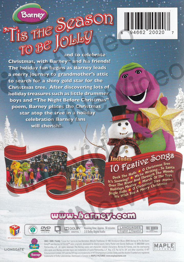 Barneys Christmas Star Dvd