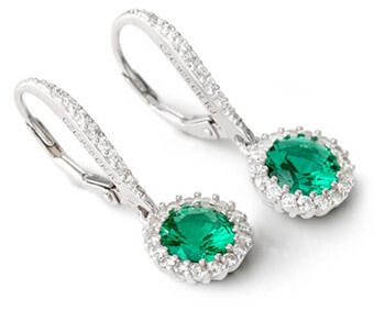 Clearance Jewelry  Buy Discount Jewelry Online   JTV com Green Bella Luce Earrings
