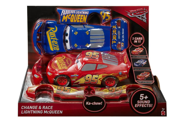 Mcqueen Race Lightning Change And