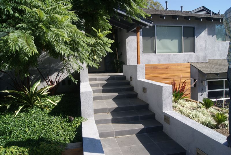 Entryways Steps And Courtyard Venice Ca Photo
