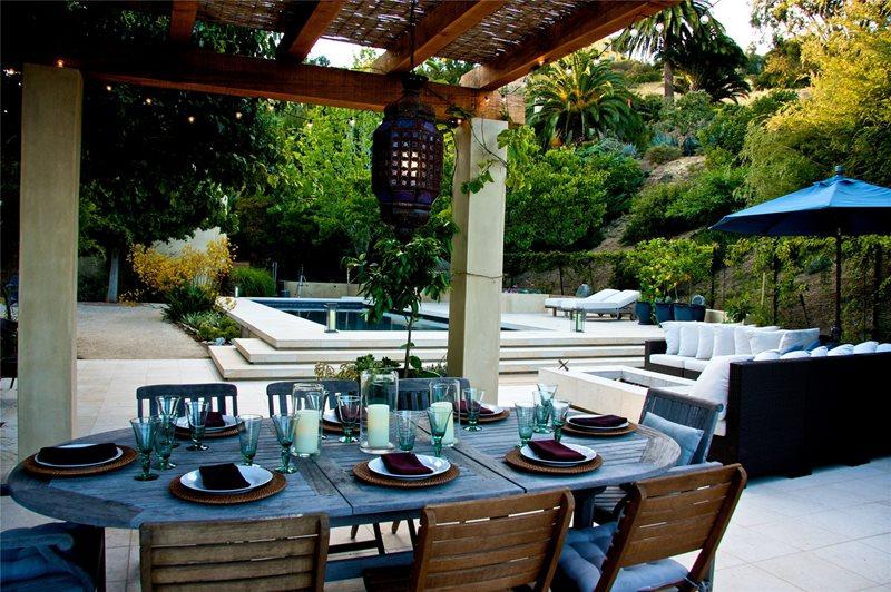 Backyard Landscape Layout
