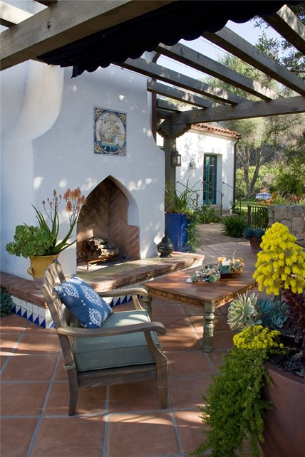 Southwestern Fireplace Santa Barbara Ca Photo Gallery
