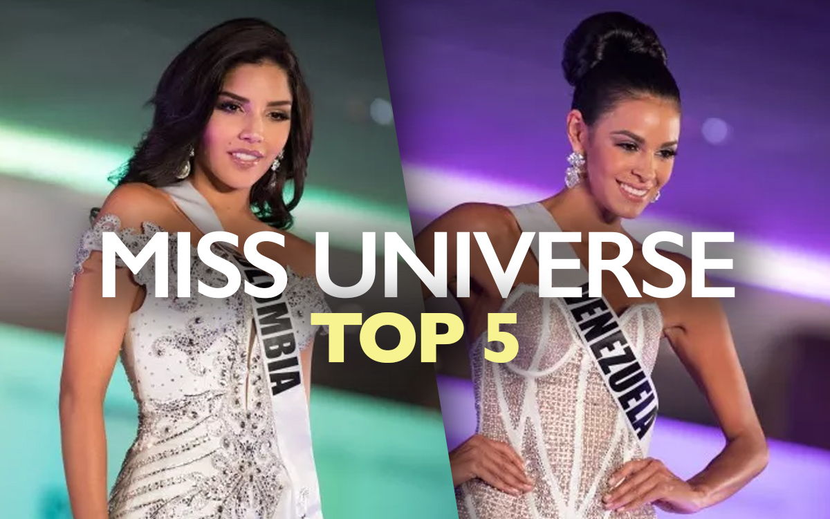 Miss Universe 2017 Live Updates Top 5 Includes Latinas From Colombia Venezuela