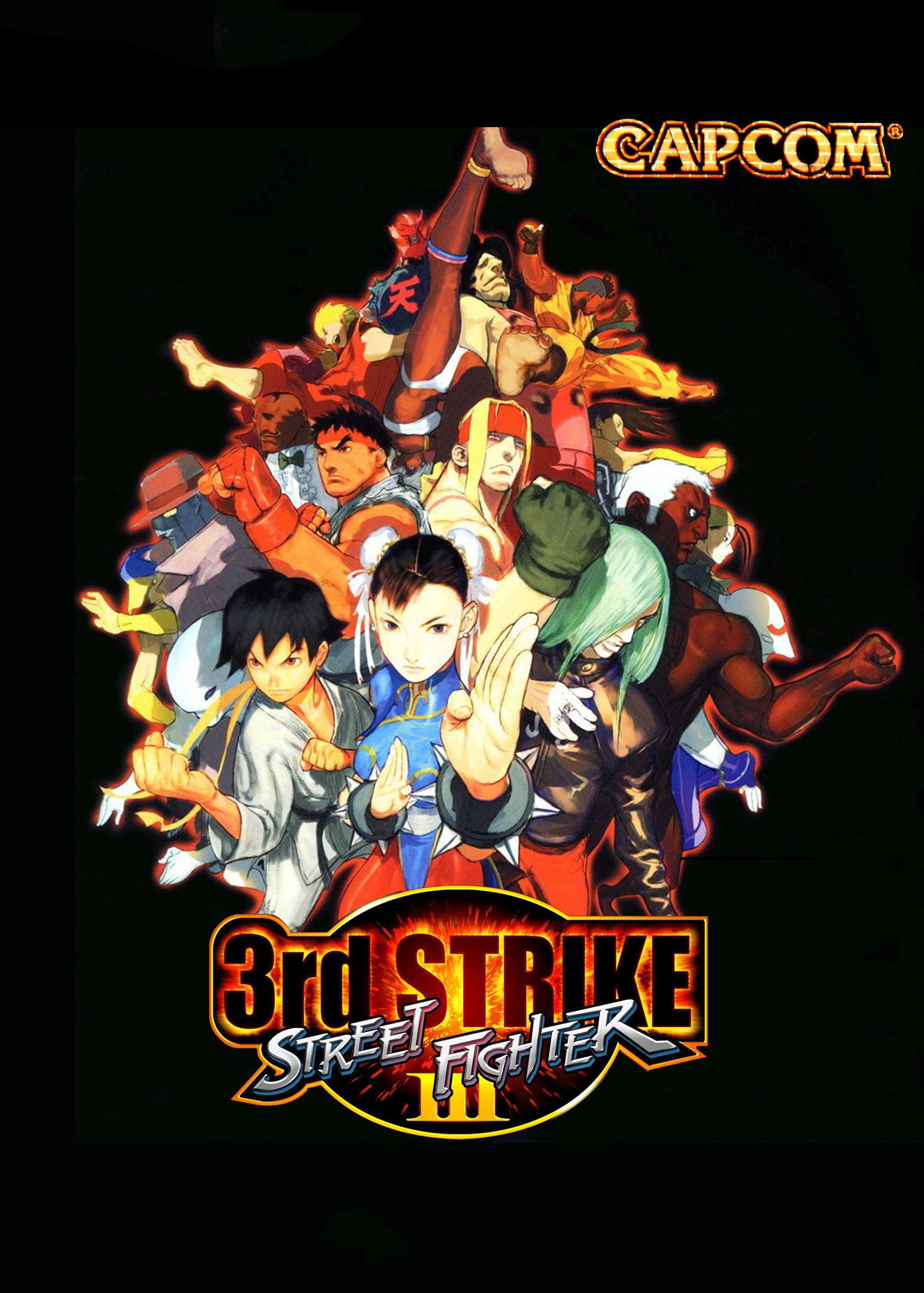 Street Fighter III: 3rd Strike: Fight for the Future ...