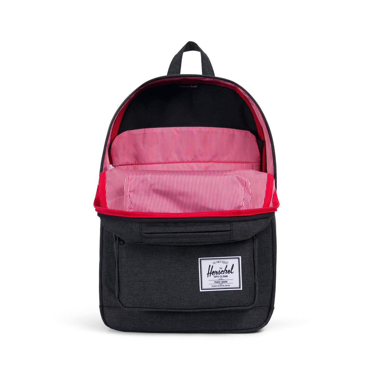 Pop Quiz Backpack in Black | Little Burgundy