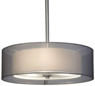 Drum Chandeliers   Drum Pendant Lighting   Drum Lights at Lumens com Puri Suspension