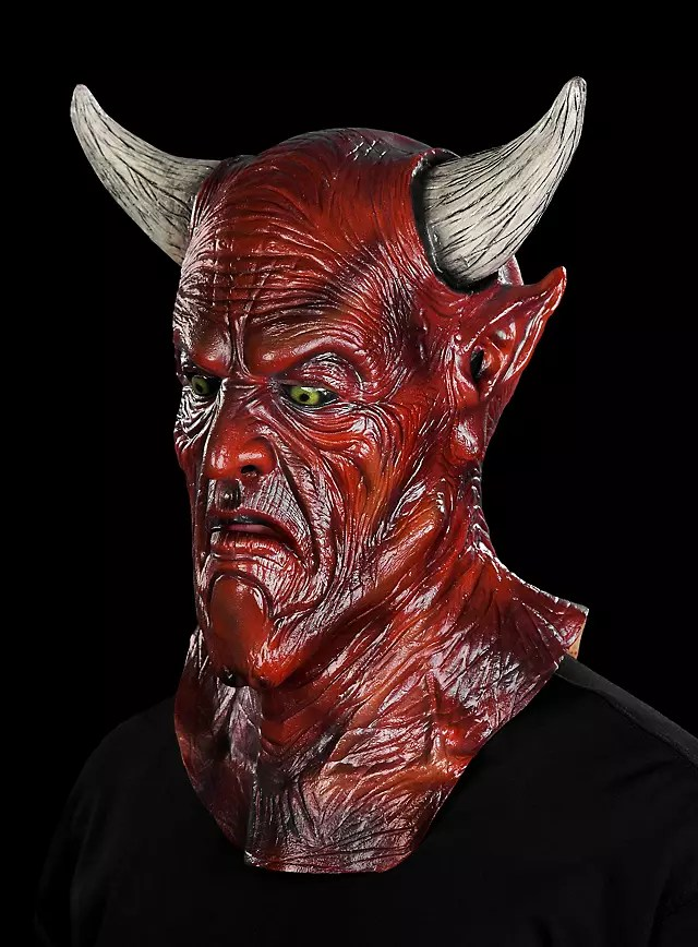 Satan Mask Maskworld Com