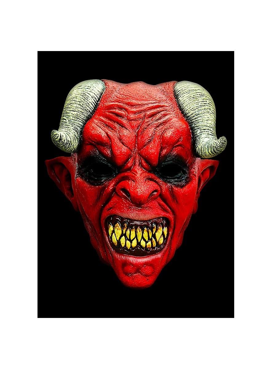 Devil Horror Mask Made Of Latex Maskworld Com