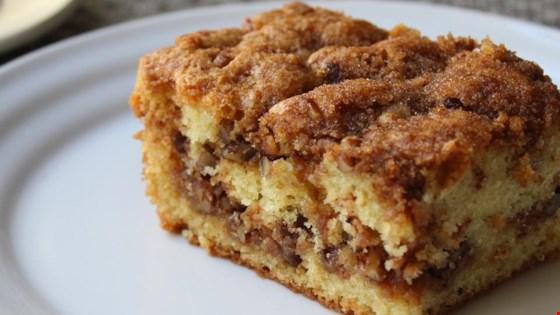Pecan Sour Cream Coffee Cake Recipe Allrecipes Com