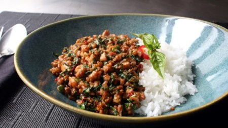 Spicy Thai Basil Chicken  Pad Krapow Gai  Recipe   Allrecipes com Photo of Spicy Thai Basil Chicken  Pad Krapow Gai  by Chef John
