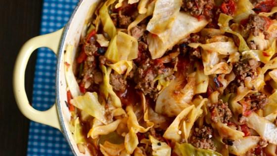 Unstuffed Cabbage Roll Recipe Allrecipes Com