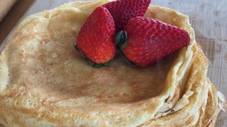 French Crepes Recipe   Allrecipes com Photo of French Crepes by CYBERCHEF