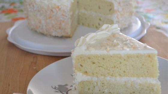 Fresh Coconut Layer Cake Recipe Allrecipes Com