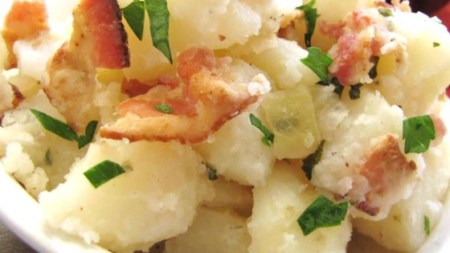 Authentic German Potato Salad Recipe   Allrecipes com Photo of Authentic German Potato Salad by Angela Louise Miller