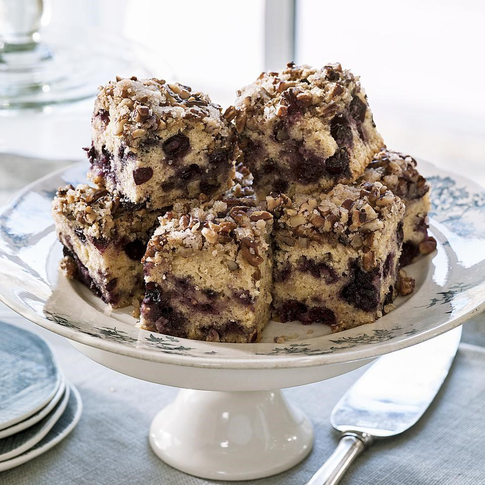 Pecan Berry Coffee Cake Recipe Eatingwell